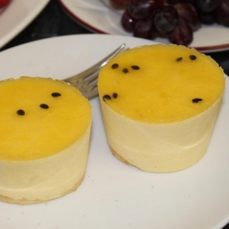 Individual Passion Fruit Mousse - Case of 12