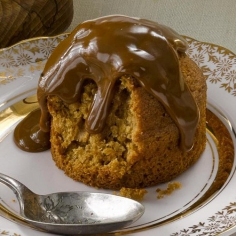 Individual Sticky Toffee Pudding (with sauce) - Case of 12