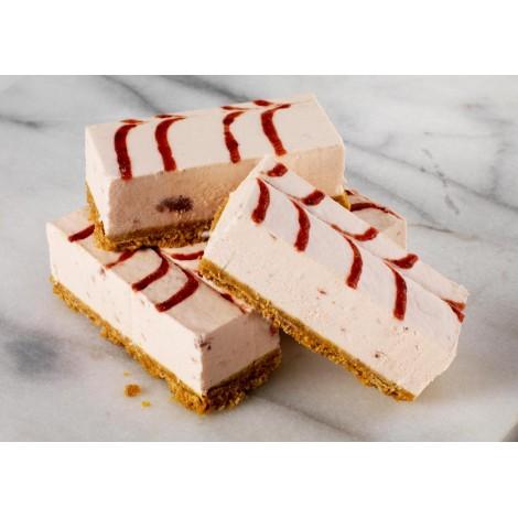 Tray Bake Strawberry Cheesecake 44pc.