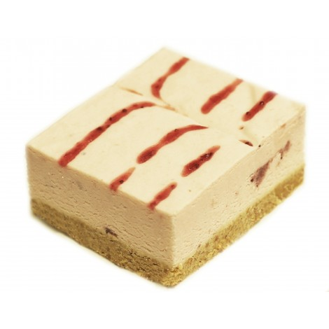 Tray Bake Strawberry Cheesecake 24pc.