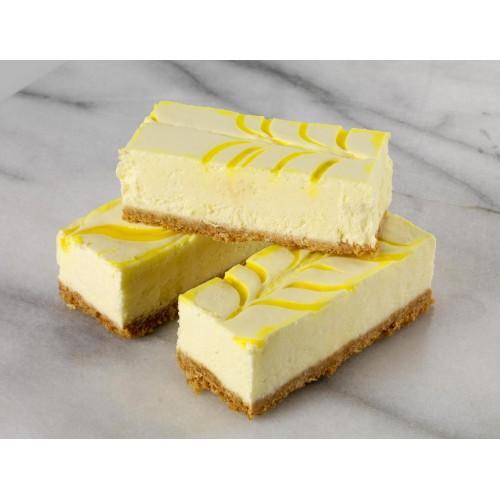 Tray Bake Lemon Cheese 44pc.